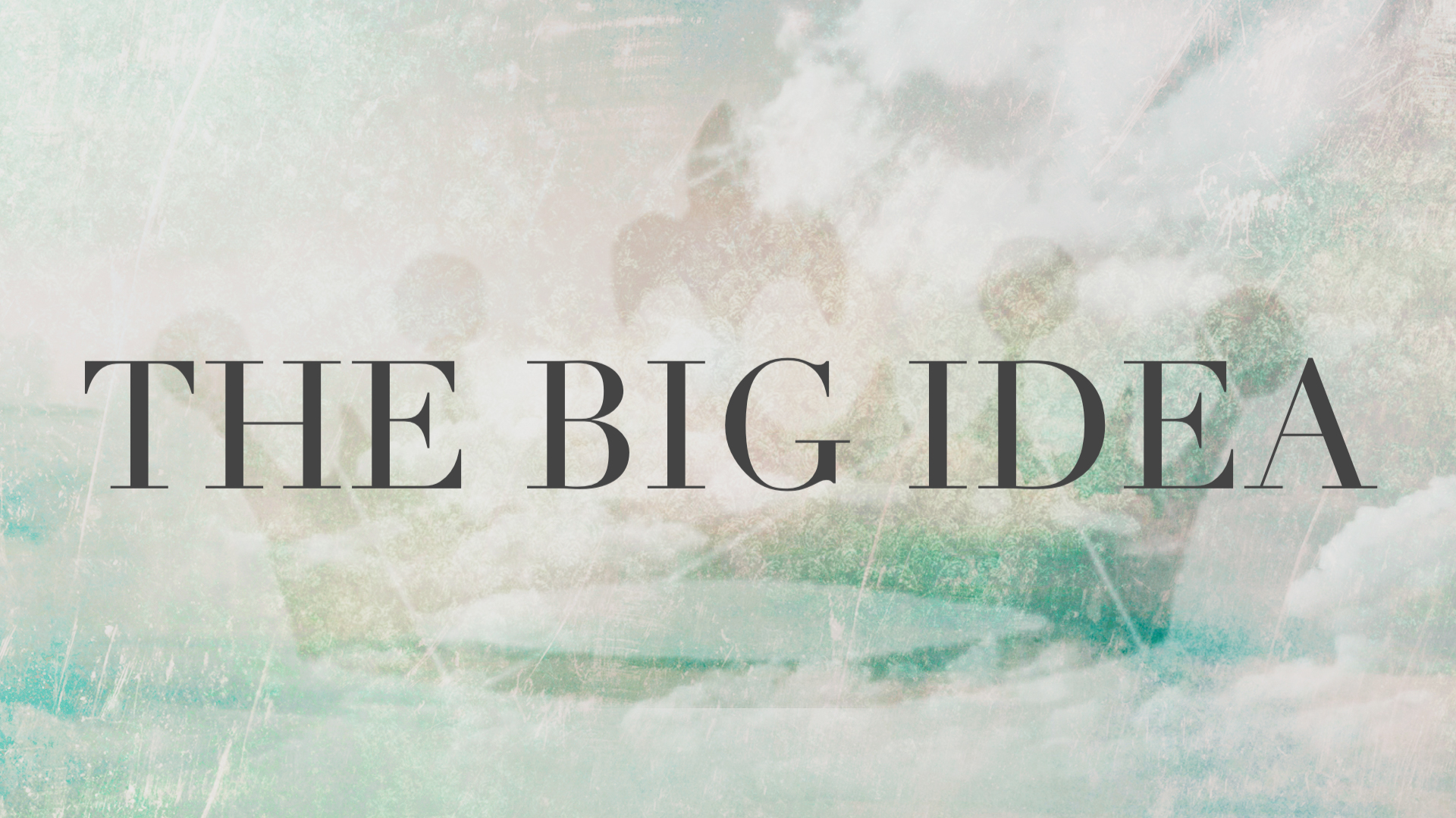 The Big Idea: Failure